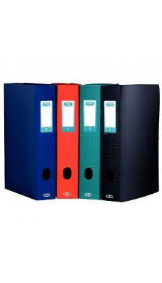 Elba - 98602909 - Boîte de classement en polypropylène - Noir - Dos 60 mm - 24x32 cm