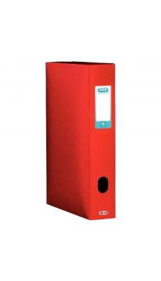Elba - 98602913 - Boîte de classement en polypropylène - Rouge - Dos 60 mm - 24x32 cm