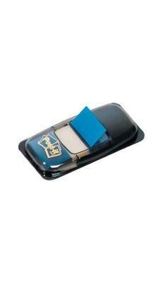 POST-IT - Index Post-it repositionnable bleu 25mm - Carte de 50