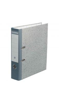 Exacompta - 52070E - Classeur à levier A4 en carton avec perforateur intégré - dos de 7 cm