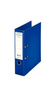 Esselte - 230103 - Classeur à levier Chromos plus A4 - Dos 8 cm  - Bleu