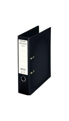 Esselte - 230101 - Classeur à levier Chromos plus A4 - Dos 8 cm  - Noir