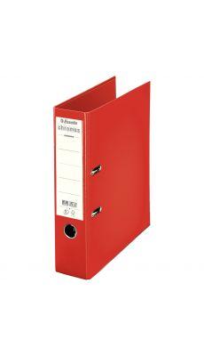 Esselte - 230107 - Classeur à levier Chromos plus A4 - Dos 8 cm  - Rouge
