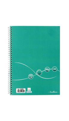 Cahier à reliure intégrale 160 pages EXCELLENCE, format A4, quadrillé 5x5, papier 60g