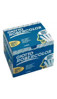 OMYACOLOR - 538800 - Craies robercolor blanc - boite de 100