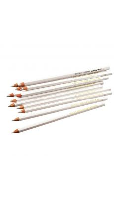 SAFETOOL - Crayons ardoise enrobes bois - boite de 12
