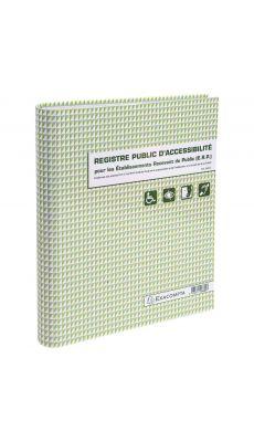 Exacompta - 6624E - Registre public d'accessibilité ERP