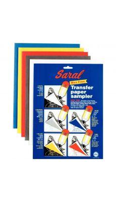 OZ INTERNATIONAL - TP00010 - Papier décalquant format 21,5 x 27,9 cm - Sachet de 5 feuilles