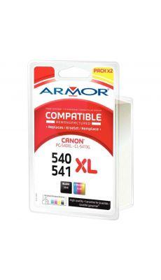 ARMOR - B10378R1 - Cartouche d'encre compatible Canon PG540 / CL541 noir / couleurs