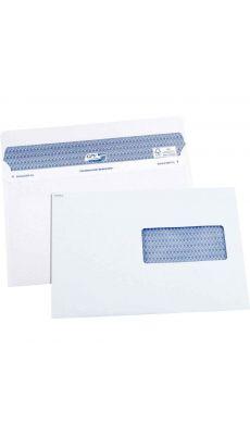 GPV - 5053 - Enveloppe blanche C5 avec fenêtre - 162x229 mm - Boite de 100