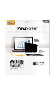 """Fellowes - CRC 48005 - Filtre écran de confidentialité pour Ordinateur Portable 19"""" Widescreen 5:4"""