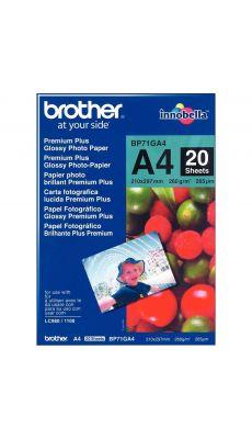 BROTHER - BP71GA4 - Papier photo brillant A4