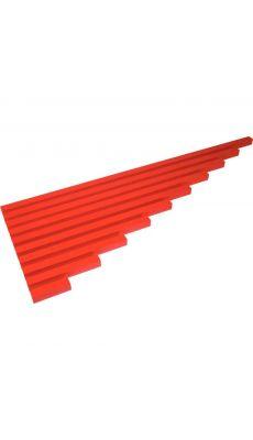 Barres des longueurs rouge