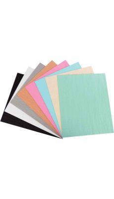 Feuille de papier alvéolé Nid d'abeille coloris fun format 33 x 40 cm - Sachet de 8