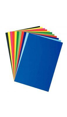 Papier affiche 80g 60x80 bleu ciel - Paquet de 25