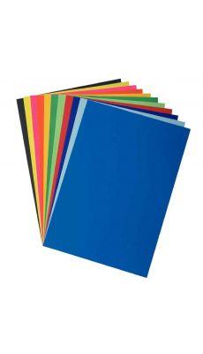 Papier affiche 80g 60x80 bleu foncé - Paquet de 25