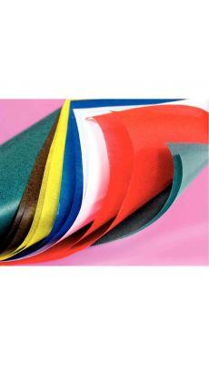 MAILDOR - 375499MAJUSC - Papier vitrail 32x50 assorti - pochette de 50