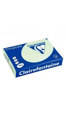 Clairefontaine - 1975 - Ramette papier A4 80g - Vert - 500 Feuilles