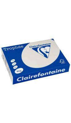 Clairefontaine - 1788 - Ramette papier A4 80g - Gris - 500 Feuilles
