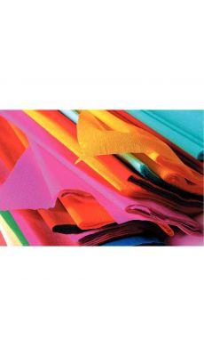 MAILDOR - 15922 - Papier crepon superieur 250x50 assorti - Paquet de 10