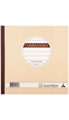 LE DAUPHIN - 1172D - Manifold Commandes NCR 21x 21 50 feuillets duplicata