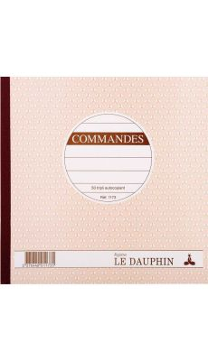 LE DAUPHIN - 1173D - Manifold commandes NCR 21x21 cm 50 tripli