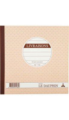 LE DAUPHIN - 1162D - Manifold livraisons NCR 21x21 cm 50 dupli