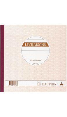 LE DAUPHIN - 1163D - Manifold livraisons NCR 21 x 21 cm 50 tripli