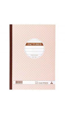 LE DAUPHIN - 1232D - Manifold factures NCR 21x29,7 cm 50 dupli