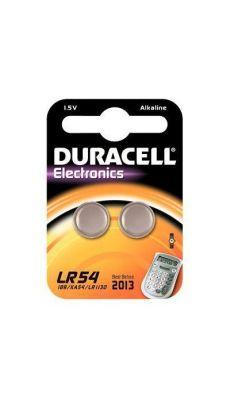 Duracell - 052550 - Pile bouton alcaline 1.5V - LR54 - Blister de 2