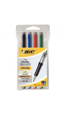 BIC - 897167 - Marqueur pour CD / DVD - Pochette de 4