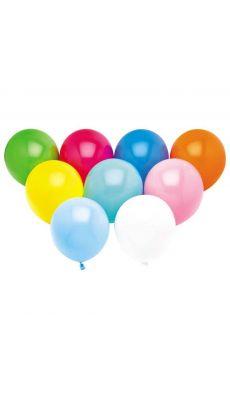 Ballon de baudruche assorti - sachet de 100