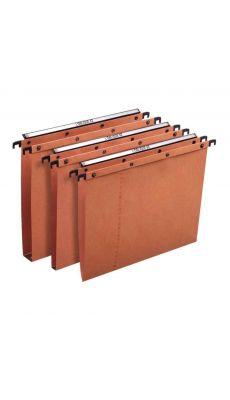 L'OBLIQUE - 200002 - Dossier suspendu pour tiroir - Dos 30 mm - Orange  - Paquet de 25