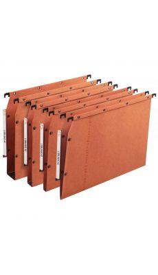 L'OBLIQUE - 500000 - Dossier suspendu pour armoire - Dos 5 mm - Orange - Paquet de 25