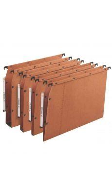 L'OBLIQUE - 500002 - Dossier suspendu pour armoire - Dos 50 mm - Orange - Paquet de 25