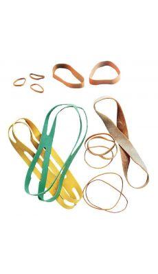 SAFETOOL - Bracelet élastique en caoutchouc blond 90x03mm - boite de 100g
