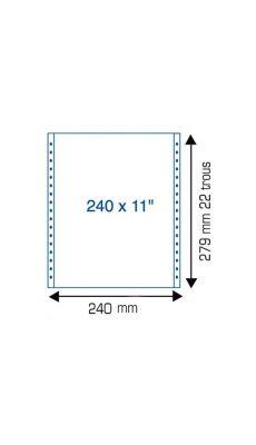 Listing u11p240 2+0p mp4c - Paquet de 1250