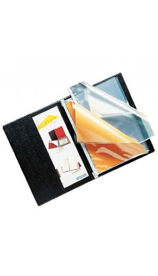 Elba - 100205564 - Protège-document Voltiplast PVC - Noir - 200 Vues