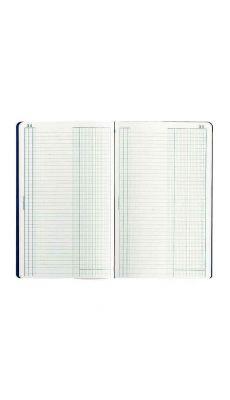 Exacompta - 7600E - Piqure comptable folioté - journal 320x195mm - 80 pages