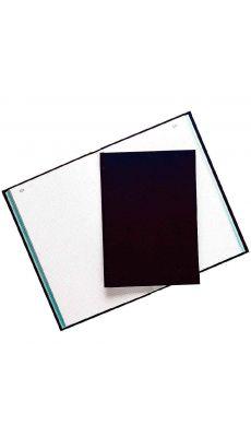 Exacompta - 6529 - Registre couverture toilée folioté petit carreaux A4 - 200 pages