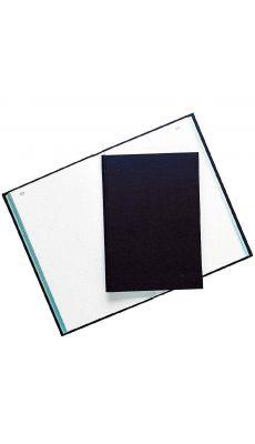 Exacompta - 7539 - Registre couverture toilée folioté petit carreaux 350x225mm - 300 pages