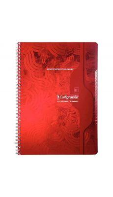 Clairefontaine - 0277 -Répertoire spirale petit carreaux - A4 - 180 Pages