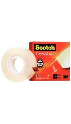 SCOTCH - Rouleau adhesif crystal 19mmx33M 600