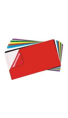 Feutrine adhesive 25x45 assorti - Paquet de 10