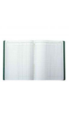 Exacompta - 4040E - Registre piqure - 4 colonnes sur1 page - 320x250 mm - 80 pages