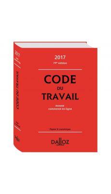 Code du travail, édition 2016