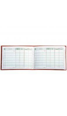 Exacompta - 13501E - Carnet de position du compte bancaire 110x150mm