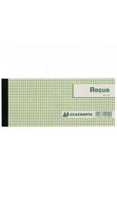 Exacompta - 10E - Carnet de 50 Recus - 90x130mm