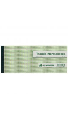 Exacompta - 33E - Carnet de 50 Traites - 100x210mm