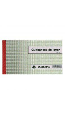 Exacompta - 43E - Manifold autocopiant - Quittances de loyer - Carnet de 50 - 50/3